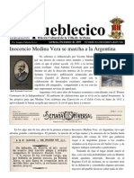 Inocencio Medina Vera Primer Viaje Argentina