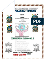 PROYECTO DE NACION