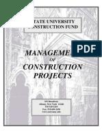 Management in Construction Projecte