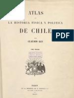 Atlas La Historia Fisica y Podlitica de Chile, Claudio Gay
