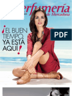 Revista La Perfumeria Mercadona Primavera Verano 2011