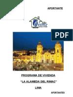 Legajo de Programa de Vivienda La Alameda Del Rimac- A Port Antes