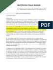 2008 Presidential Election Fraud Analysis - Statutes
