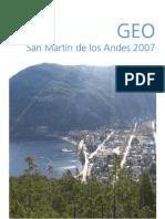 GEO San Martín de los Andes Perspectivas del ambiente urbano