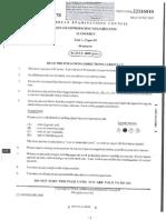 2008 - Unit 1 - Paper 1