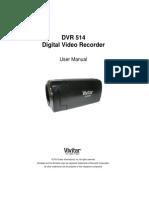 DVR 514 Camera Manual