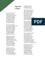Poema A México de Juan de Dios Peza