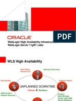 09-WLS11gR1 Labs - High Availability