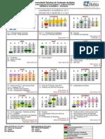 calendario UESB 2011