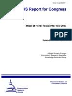 Medal of Honor Recipients 1979-2007,