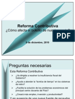 Foro Reforma Contributiva
