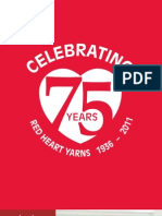 Red Heart Yarns - 75th Anniversary Edition Catalog