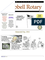 Rotary Newsletter May 31 2011