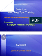 Basic Selenium Tutorial - Course Details [PDF Library]