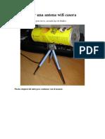 Cómo hacer una antena wifi casera