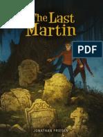 The Last Martin by Jonathan Friesen, Excerpt