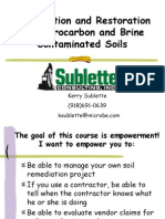 Soil Remediation - Hydrocarbons 6-11