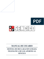 Manual de Usuario Sencico