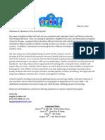 Pee Wee Program Parent Welcome Packet Summer 2011