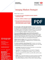 Emerging Markets Strategist HSBC