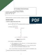 exercicios Fourier