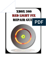 Xbox 360 Repair Manual Guide