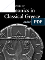 Harmonics in Classical Greece