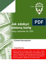 Jak zdobyć zielona kartę i wizy czasowe - ebook