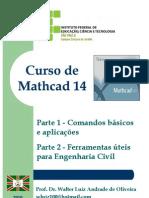 Curso de Mathcad 14 - Walter Oliveira