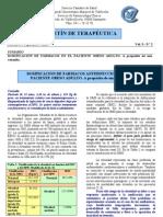 Boletín de Terapéutica. Septiembre 2008[1]