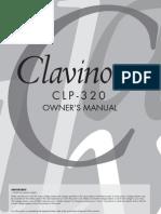 Clavinova CLP 320 Manual