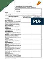 Identificação individual de desperdícios-Pt