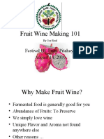 Fruit Wine Making 101