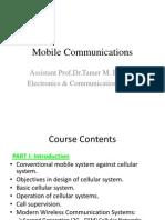Mobile Cellular Telecommunication System-Revised