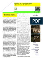 EL  BOLETIN  edición   N°  32  Junio     AÑO  2011