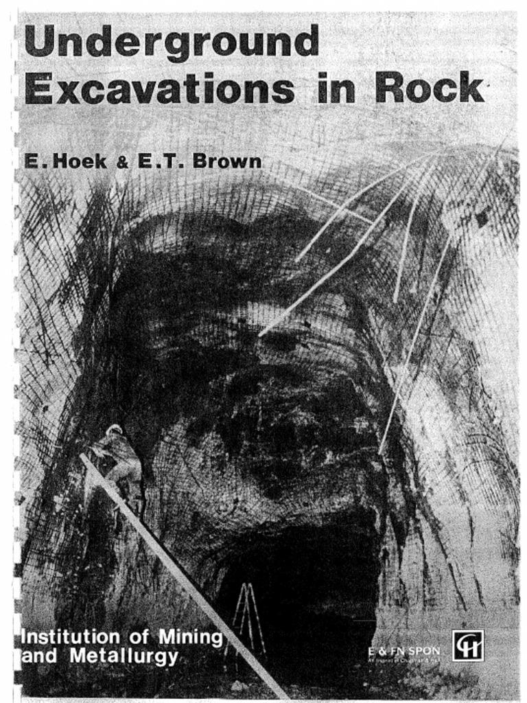 HoekBrown Underground Excavation in Rock
