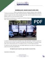 Comunicado Apertura Juicio por Trata de Personas - 1 de junio de 2011