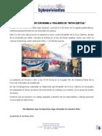"""Apertura a juicio contra implicada en atentado a bus """"Rutas Quetzal"""" por lavado de dinero"""