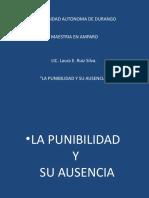 PUNIBILIDAD Y SU AUSENCIA[1]