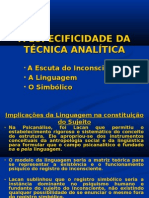 A Especificidade Do Mtodo Analtico