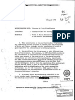 CIA Knows That The Soviets Know About U2 Overflights.