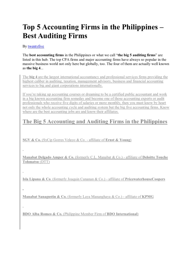 cover letter for big 4 accounting firms