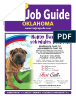 Job Guide Volume 23 Issue 11 Oklahoma