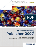 Microsoft Publisher 2007