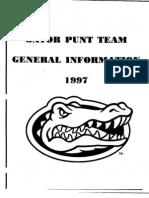 punt team -Gators