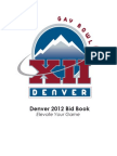 Denver Bid to Host Gay Bowl XII