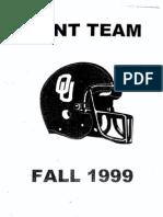 Punt team Oklahoma
