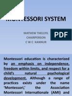 Montessori System