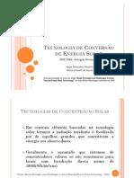 Concetradores de Calha Solar