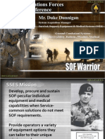 SOF Warrior - Ground Combatant Systems Brief SOFIC 2011